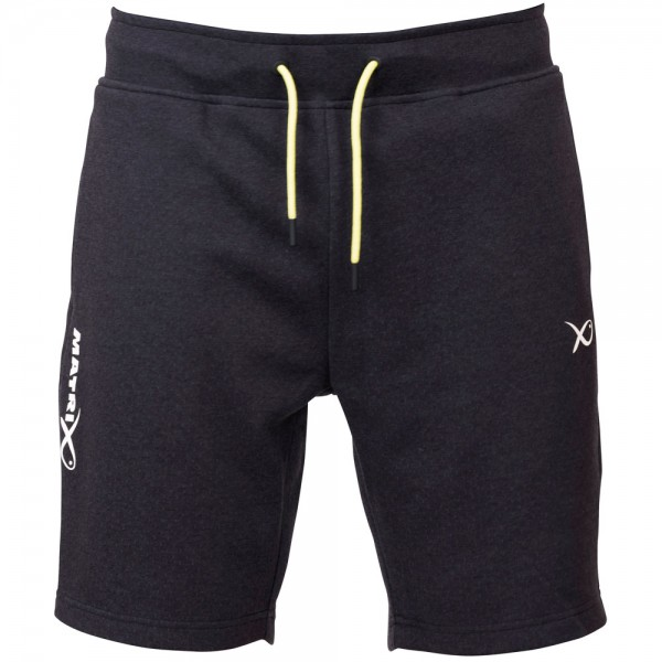 Matrix Minimal Jogger Shorts Black Marl