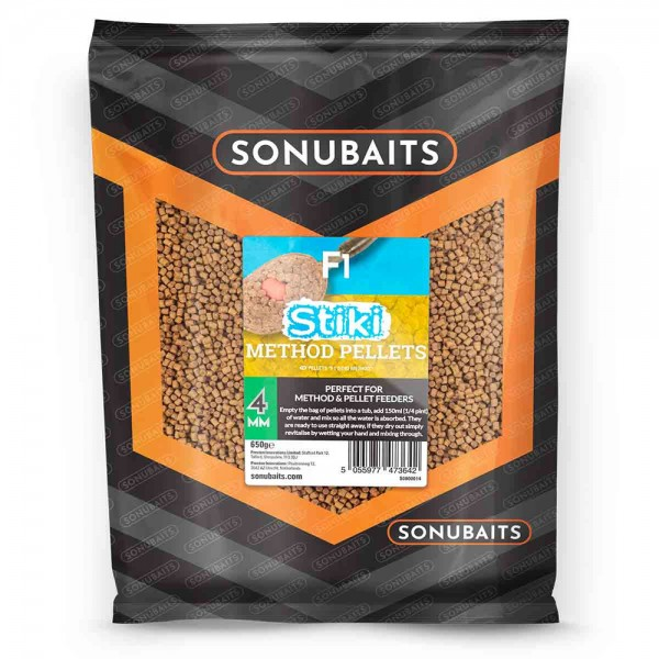Sonubaits Pellets Stiki F1 Method