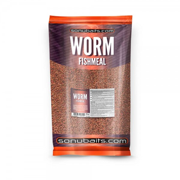 Sonubaits Groundbait Worm Fishmeal (2kg)