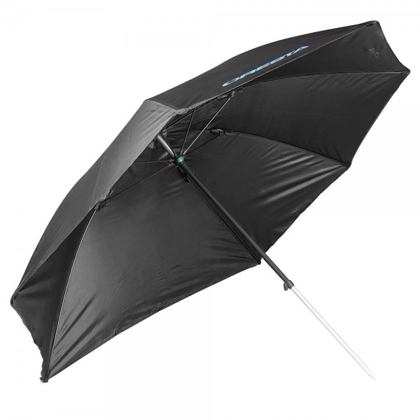 Cresta Flat Side Umbrella Black 125cm