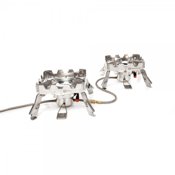 Ridge Monkey RM109 Quad Connect Stove (Full Set)