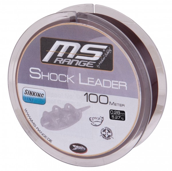 Angelschnur MS Range Shock Leader 100m
