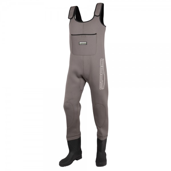 Spro Neoprene 4mm Chestwader PVC Boots