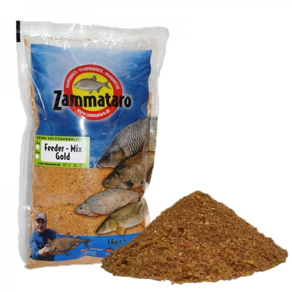 Zammataro Grundfutter Feeder-Mix Gold