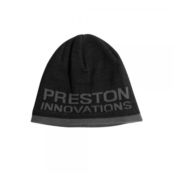 Preston Black/Grey Beanie Hat