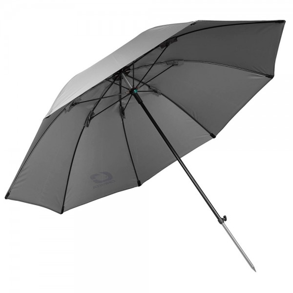 Cresta Long Pole Umbrella Grey 115cm